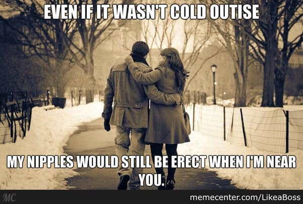 true love cold outside meme