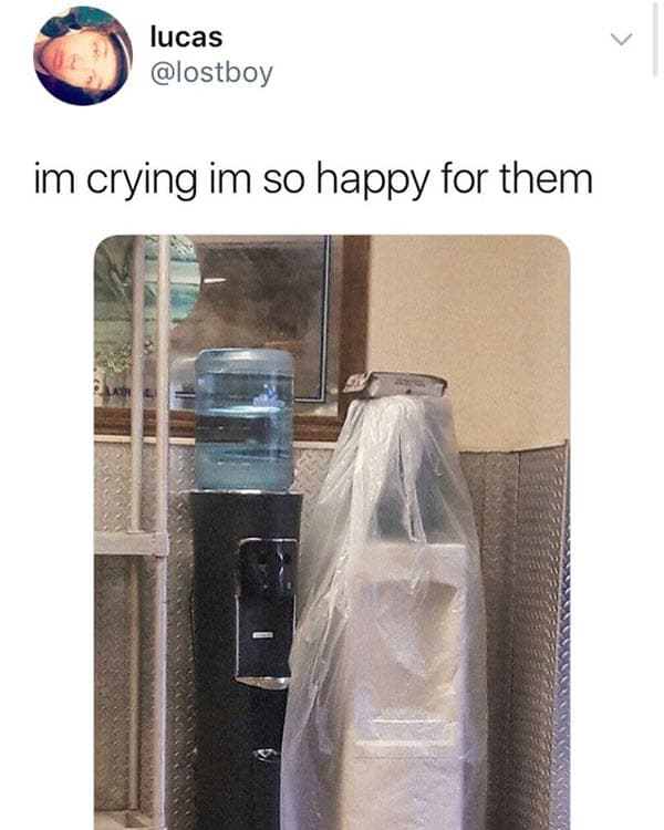 true love crying meme