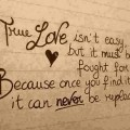 true love saying