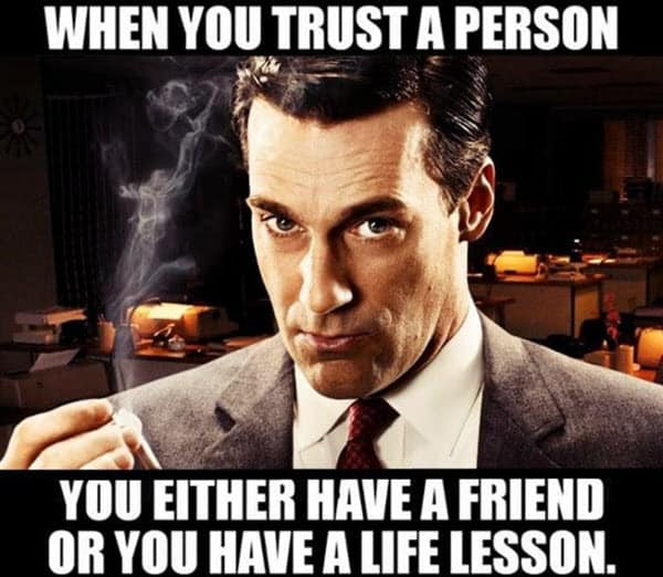 trust a person memes