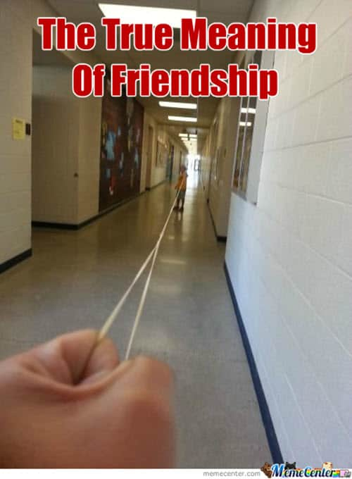 trust friendship memes