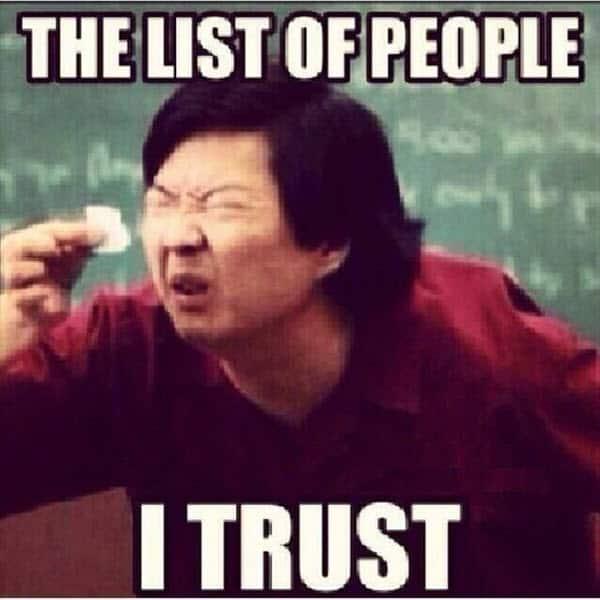 trust list memes