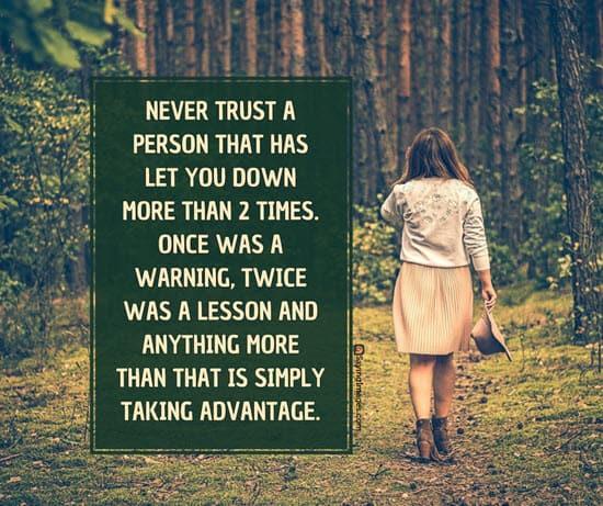trust quotations