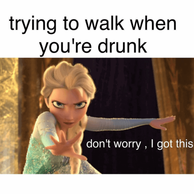 25 Really Funny Memes About Getting Drunk | SayingImages.com