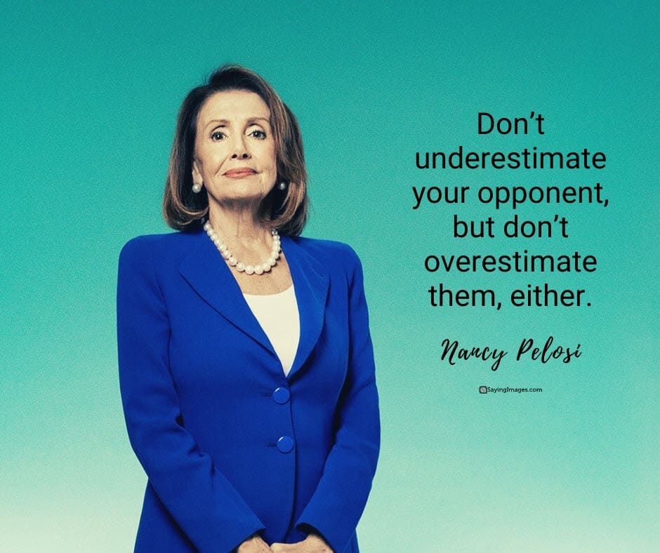 underestimate opponent quotes