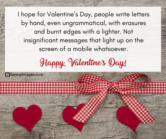 valentines day romance greeting