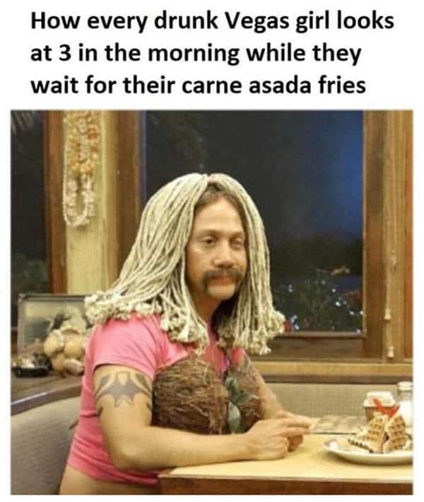 vegas drunk girls meme