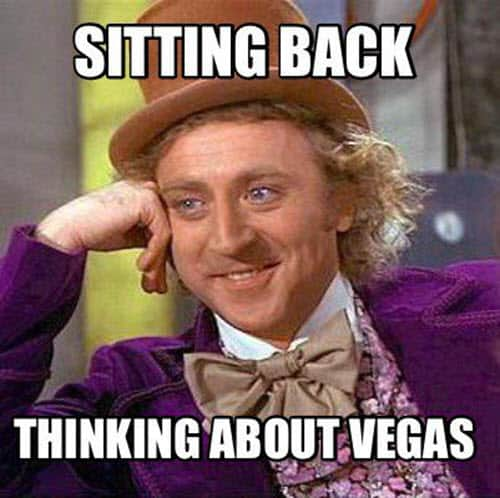 vegas sitting back meme