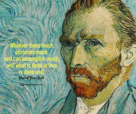 vincent van gogh motivational quotes