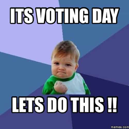 voting day meme