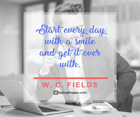 w c fields smile quotes