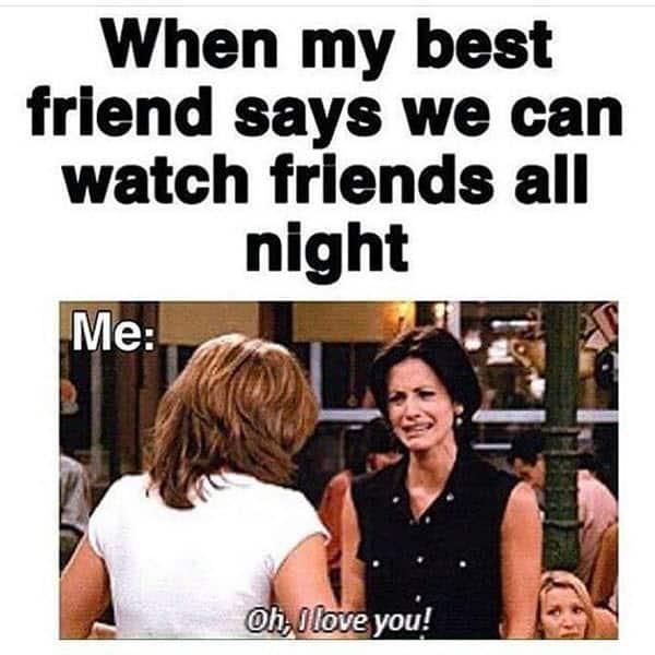 watch friends meme