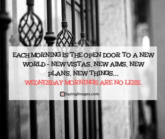 wednesday morning quotes