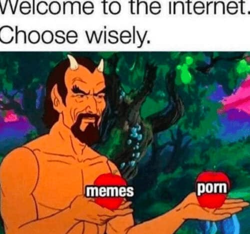 welcome to the internet meme