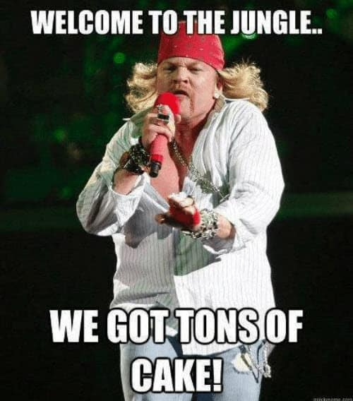 welcome to the jungle meme