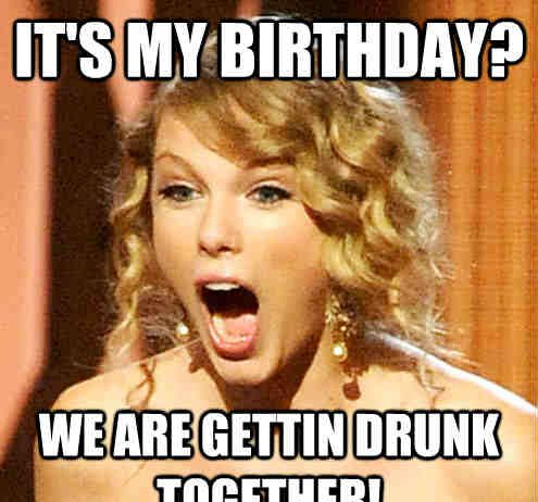 its my birthday meme