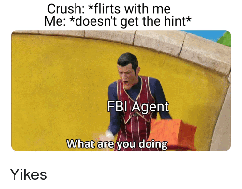 what are you doing fbi agent meme