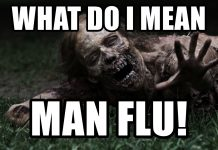 man flu meme