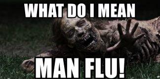 man flu meme