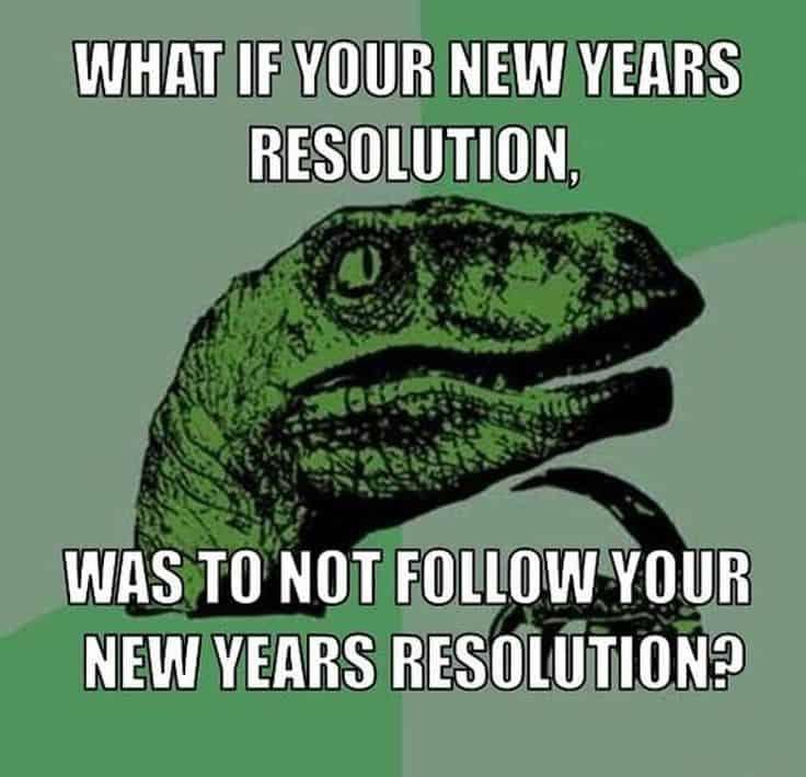 20 New Year S Resolution Memes You Need To See Sayingimages Com