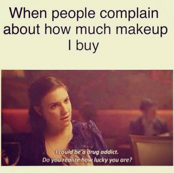 30 Hilarious Makeup Memes That Are Way Too Real Sayingimagescom