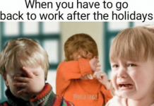 back to work meme