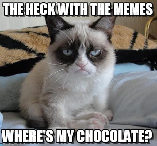 wheres my chocolate memes