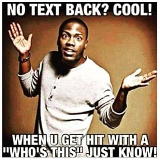 20 Relatable No Text Back Memes That Will Make You Feel A ...