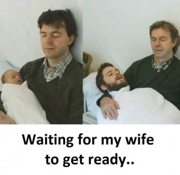 wife waiting memes
