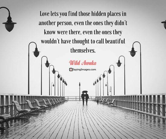 wild awake romantic quotes