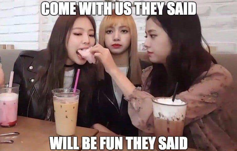 will be fun they said jisoo meme