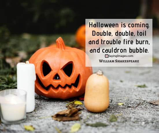 william shakespeare halloween quotes