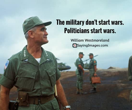 william westmoreland war quotes