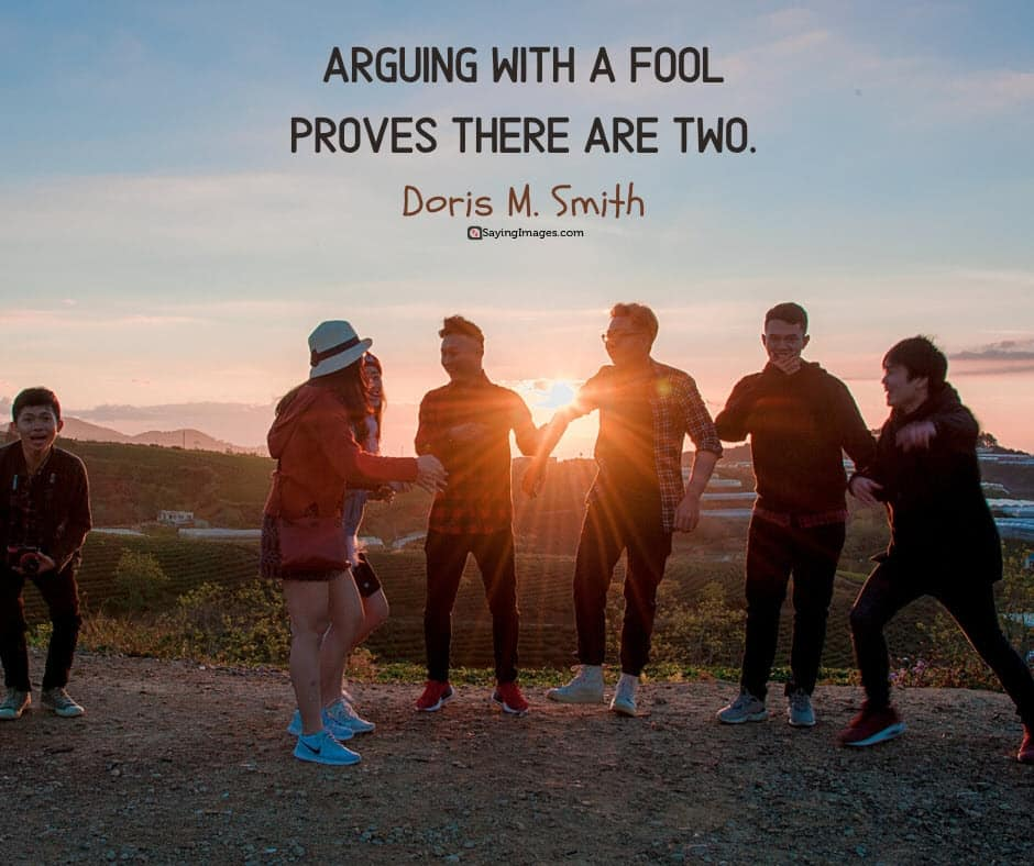 witty clever arguing quotes