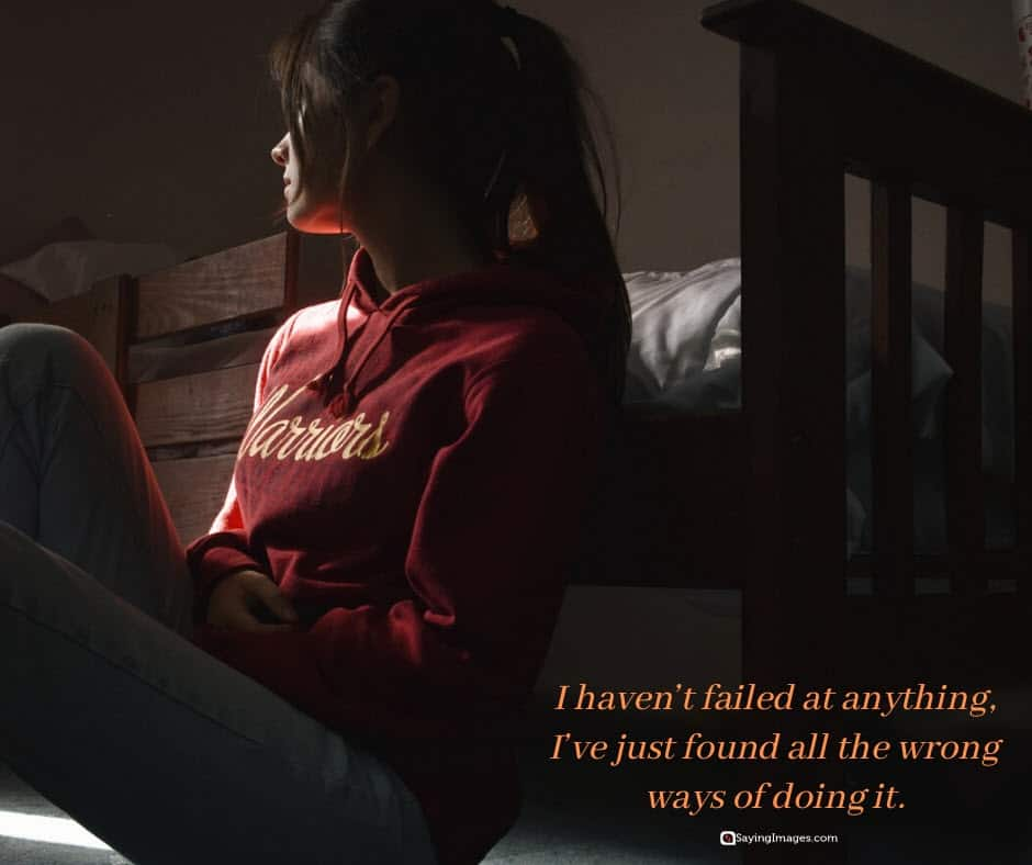 witty clever failure quotes