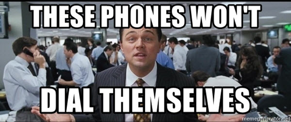 wolf of wall street theses phones meme