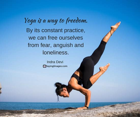 50 Inspirational Yoga Quotes Sayings Sayingimagescom