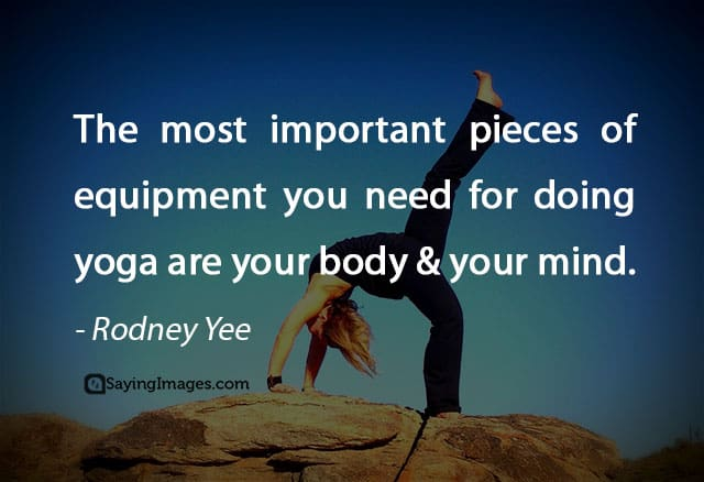 yoga quotes pictures