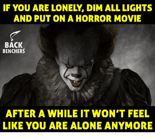 20 Creepy Horror Movie Memes Sayingimages Com