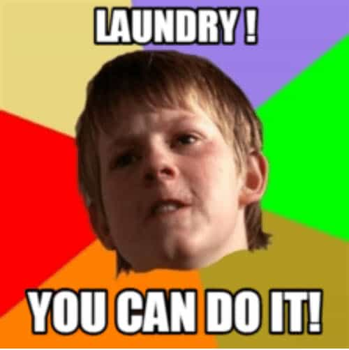 you can do it laundry meme