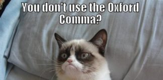 oxford comma meme