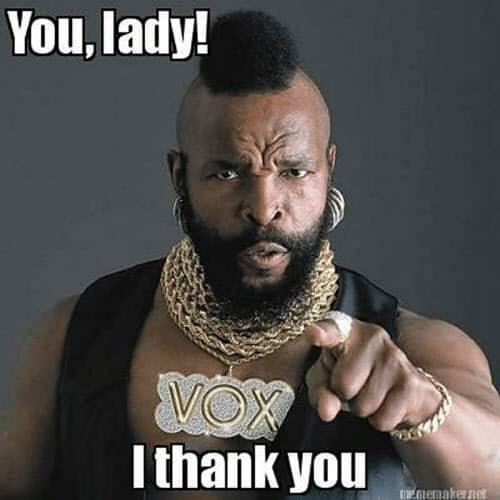 you lady i thank you memes