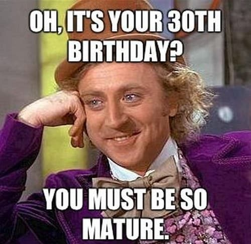 It S Model Home Monday And We Re Loving This Look At: 15 Happy 30th Birthday Memes You'll Remember Forever
