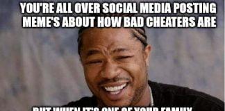 cheating memes
