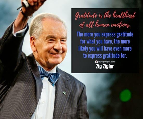 zig ziglar gratitude quotes