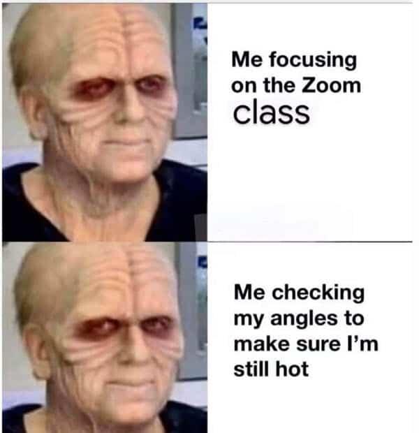 zoom meetings focus memes